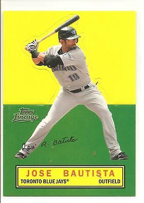 Jose Bautista 2011 Topps Lineage Stand-Ups - #ts1