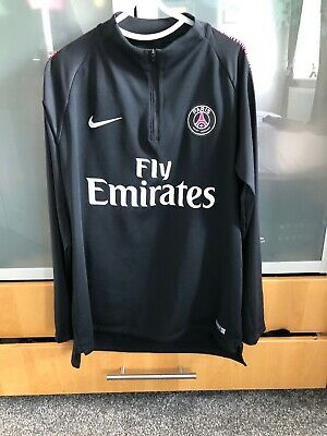 Mens Nike Paris saint germain Training Drill Top Size Xl