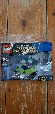 Lego DC Comics super heroes (the joker) polybag, brand new