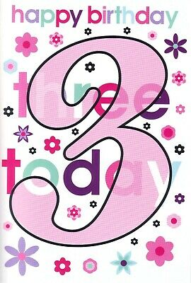 Girls 1st Birthday card Today you/'re 1 by Simon Elvin