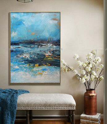 """VV763 Modern Home Decor Hand-painted Abstract Scenery oil painting Unframed 36"""""""