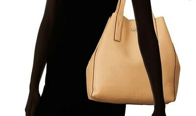 da7a7df6f967 NWT $248 MICHAEL Kors Junie Tote In Butternut Leather Free Ship ...