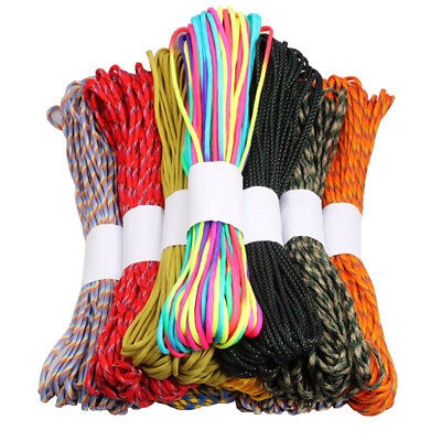 30.5m Paracord String Camping Hiking Rope 4mm Outdoor Survival Rope Tool