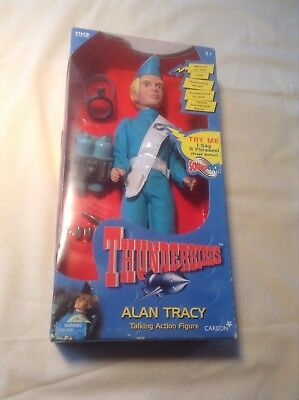Thunderbirds Alan Tracy Carlton Talking Figure Gerry Anderson 1999 New Works