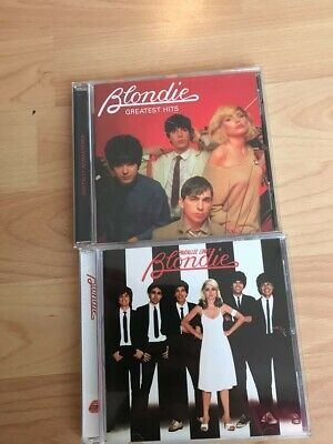 Blondie Parallel Lines/ Greatest Hits 2X CD's great condition