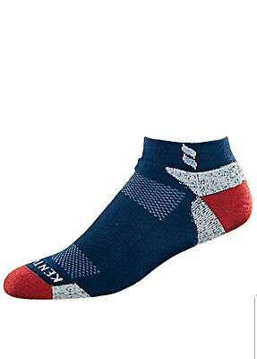 Kentwool Tour Profile Mens Golf Socks Sz M blue   Slightly Imperfect