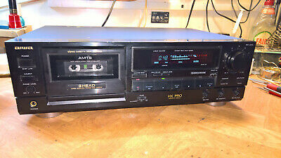 Aiwa AD-F810 Three Head Cassette Deck - Fully Serviced and Tested