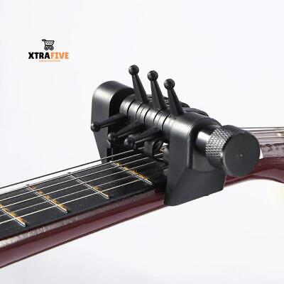 Quick Change Tune Clamp Key Trigger Capo For Acoustic Electric Guitar Chords
