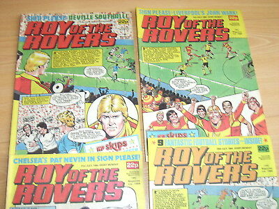 Vintage Comics Roy of the Rovers July 1984 job lot Roy of the Rovers comics