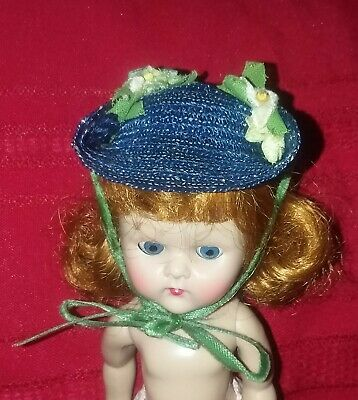 1954 Vogue Ginny Doll Hat Correct To Candy Dandy Outfit # 54 Vgc!