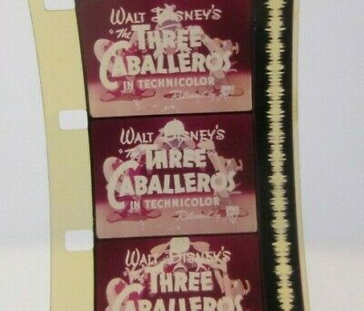 16mm film Walt Disney's 'The Three Caballeros' color trailer 1944 feature