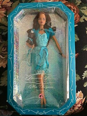 Miss Turquoise-December  Barbie Doll Birthstone Beauties Collection