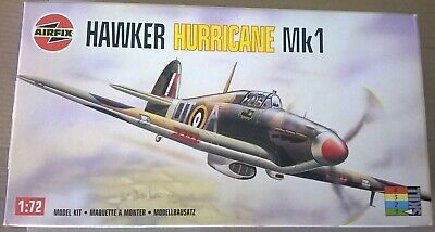 Airfix Hawker Hurricane Mk I 1/72 scale boxed kit as flown by Bob Stanford Tuck