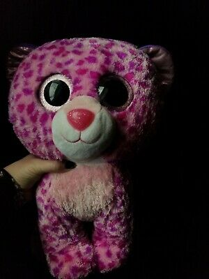 72ee48d6ba0 TY BEANIE BOO Leopard Wild Cat Large 16 Inch Plush RETIRED -  24.99 ...