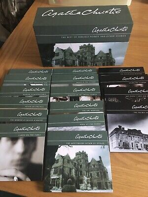 Agatha Christie The Best of Hercule Poirot and Other Stories Audio Books CD Set
