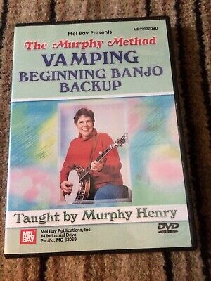 Vamping - Beginning Banjo Backup Tuition DVD (Murphy Method)