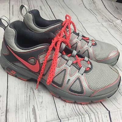 94ab19e0057a NIKE Air Alvord 10 Women s Trail Running Shoes Gray Pink Sneakers Size 7.5