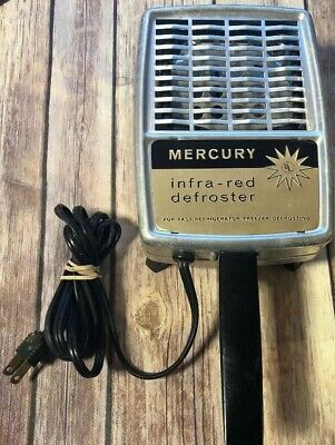Vintage Mercury Infrared Defroster Possible Project Piece. Steampunk Style.