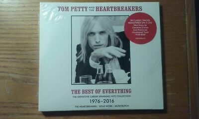 TOM PETTY - The Best Of Everything - 2 CD The Definitive Career 38 Tracks *NEW*