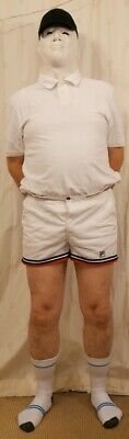 Vintage Fila Mens 'short' Tennis Shorts Size Large 36'-38' White (Gay  Interest)