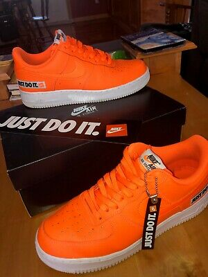 Nike Air Force 1's 07' Just Do It Size 10.5