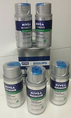 """LOTE"" 5 BOTES de 75 ml , Philips Lotion Nivea For Men Series (HS8000)nuevos!"