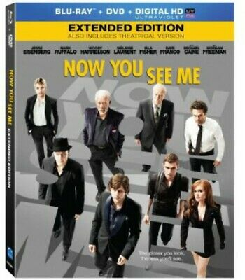 Now You See Me [2 Discs] [Blu-ray/DVD] [Includes Digita (Blu-ray Used Very Good)