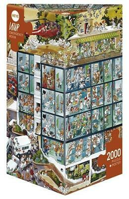 Loup Emergency Room. Puzzle 2000 Teile ~ Jean-Jacques Loup ~  4001689257842