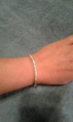 NO RESERVE! Beautiful 5 cttw Classic Tennis Diamond Bracelet In 14K White Gold