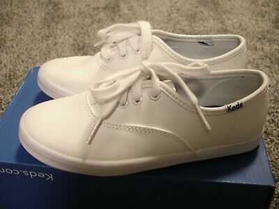 f9b0d2c00e3 KEDS GIRLS CHAMPION CVO White Shoes Sneakers Size 12.5 M NEW ...