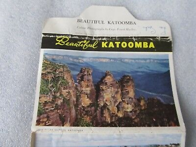 Vintage C1950's John Sands Colour & B/W View Folder beautiful Katoomba NSW