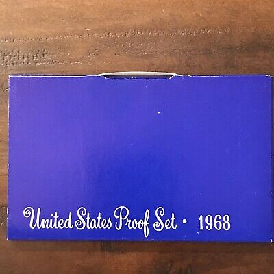 ***1968 Us Mint Proof Set***
