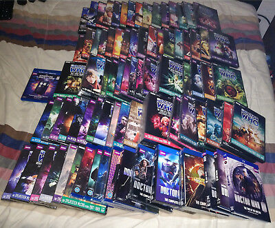 HUGE DOCTOR WHO DVD BLURAY Season Series 1 2 3 4 5 6 7 96 BOX LOT BAKER TO SMITH