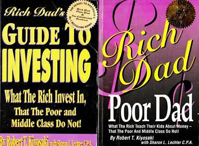 RICH DAD POOR DAD + GUIDE TO INVESTING & and financial freedom   Robert Kiyosaki