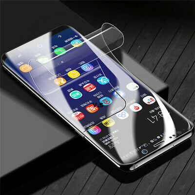 For Samsung Galaxy S10+ S10E Full Cover Curved Screen Protector Hydrogel Film
