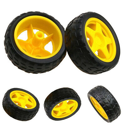 Industrial Robot Smart Motor Car Wheel Rubber Chassis Wheel Kit for Arduino Eage