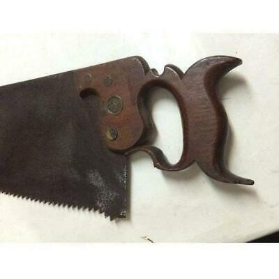 Rare 1840s Hand Saw R Waldo Sheffield Stamped 5 PPI