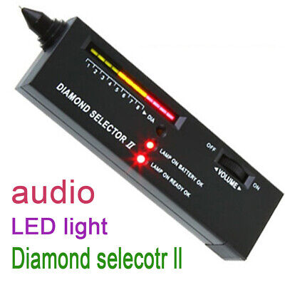 Portable Diamond Jeweler Tool Kit Gemstone Tester Selector Testing Gold Diamond