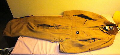 d9a2f123b8 Walls Blizzard Pruf Insulated Brown Men's Overalls Size Large Tall Chest 42- 44