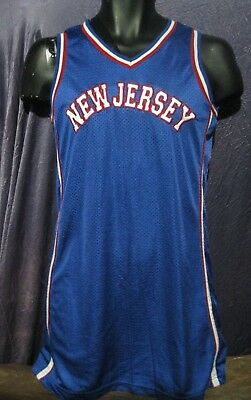 on sale 7d1d7 0f3ab NEW JERSEY BROOKLYN Nets Nba Basketball Women's Ladies Jersey (M) Medium