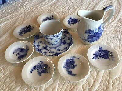 Royal Copenhagen Full Lace and Flowers Lot