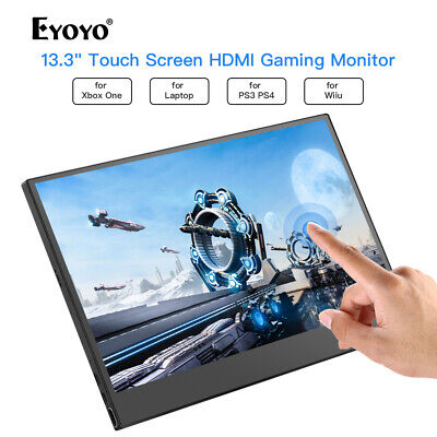 """13.3"""" 10 Point Touch Screen HDMI Monitor for PS3 PS4 WiiU Switch Raspberry Pi AU"""