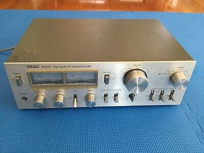 Vintage Teac Integrated Amplifier BX-500,Made In Japan.