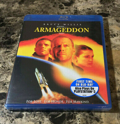 Brand New and Sealed Armageddon Blu Ray Disc, Free Shipping!