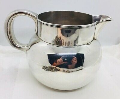 Tiffany & Co. Antique Sterling Silver 4 Pint Water Pitcher 1890s
