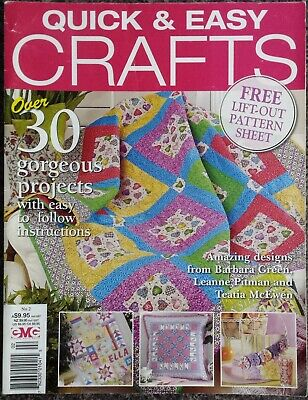 Quick & Easy Crafts Magazine No.2 2009 Cushion Quilts Bags
