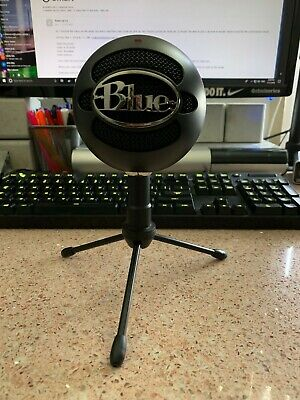 Blue Snowball iCE Wired PC Microphone Black