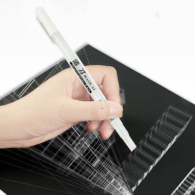 Acrylic Paint Marker Pen Painting Pens Art Drawing Markers White Utensil Supply