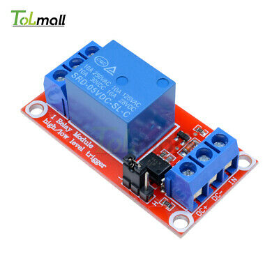 5V 1-Channel Optocoupler Relay Module H/L Level Triger for Arduino
