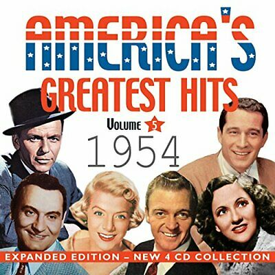 Various - Americas Greatest Hits 1954 CD (4) Acrobat NEU